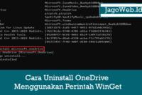 winget uninstall Microsoft.OneDrive